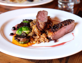 Passion and Rock 'n' Roll on a Plate at Harvest Eatery